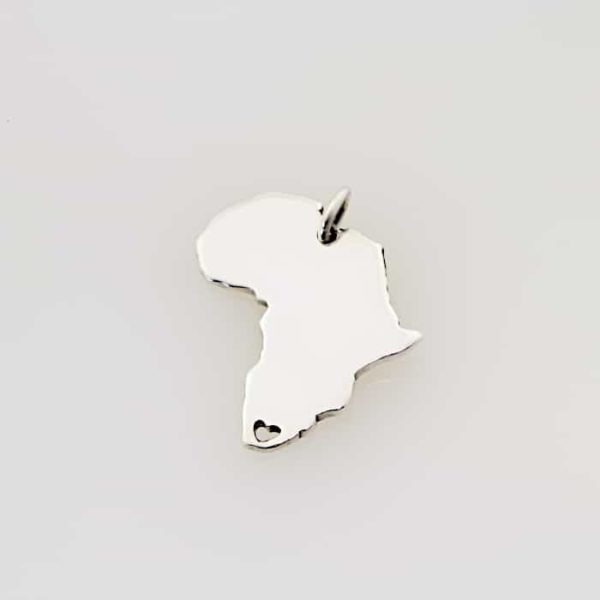 Africa Heart Pendant South Africa