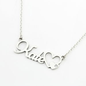 Name Necklace With Diamond Durban Necklaces