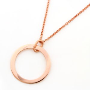Engraved Unity Hoop Necklace South Africa Jewelry