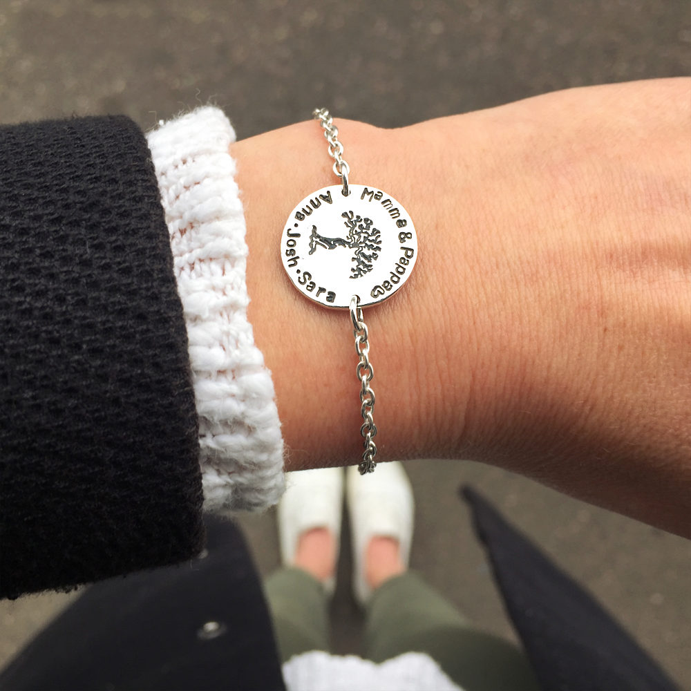 Family Tree Bracelet-lifestyle