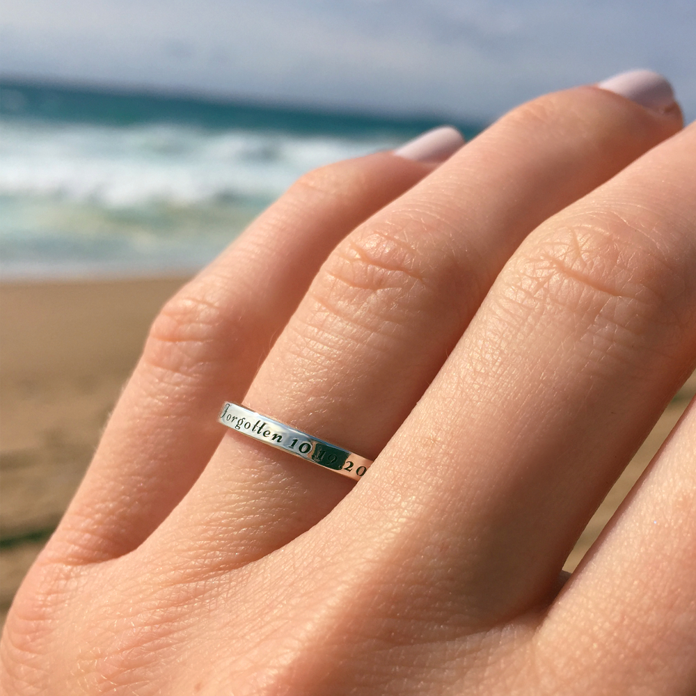 engraved ring south africa