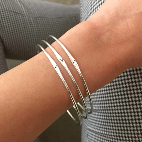 Initial Bangle Set-3 lifestyle