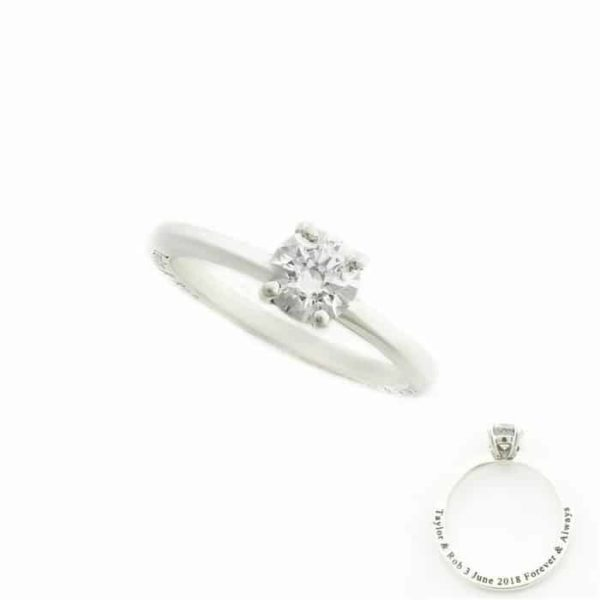 Personalised-Cubic-Zirconia-Solitaire-Ring South Africa