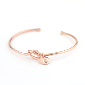 RG Knot and Coin Bangle
