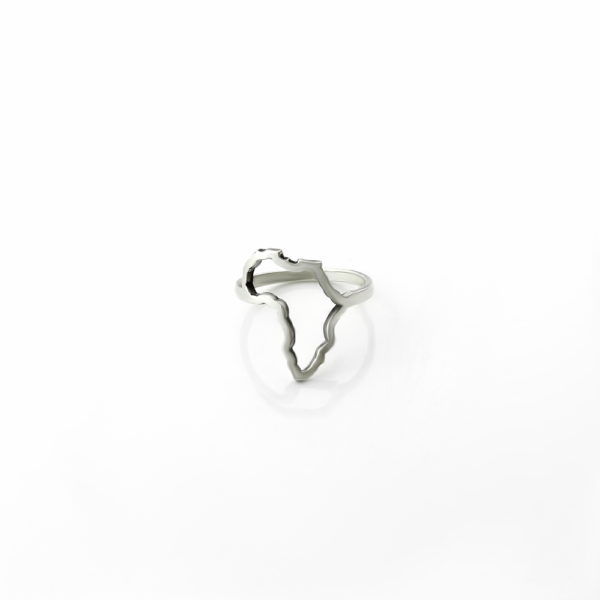 Sterling Silver Africa Ring South Africa