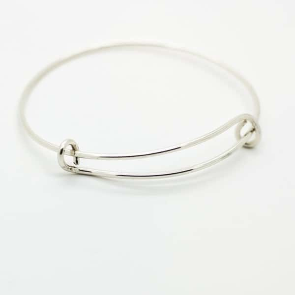 Sterling Silver Expandable Bangle