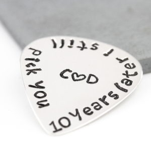 Personalised Guitar Pick online