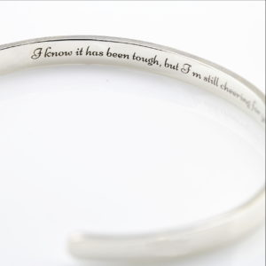 Sterling Silver Secret Cuff Bangle 2