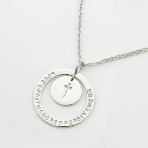 Unity Hoop Necklace With Coin Durban