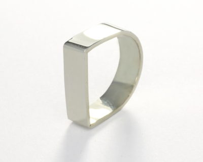 Sterling Silver Squared Ring