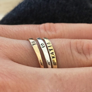 Rose Gold Plated IDENTITY Band