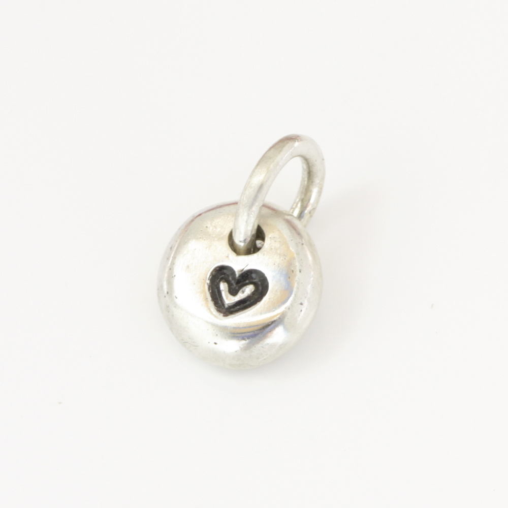 Sterling Silver Petite Pebble