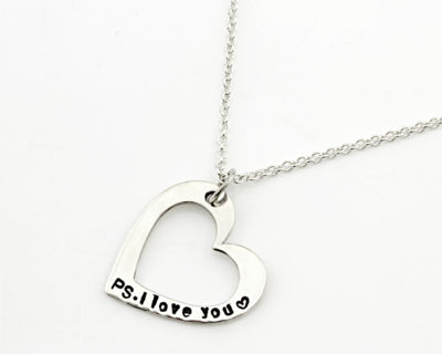 Personalized Open Heart Necklace Durban