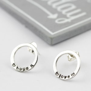 Sterling Silver Hollow Earrings