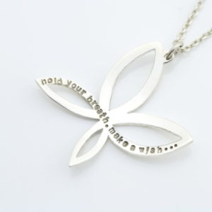 Open Wing Butterfly Necklace