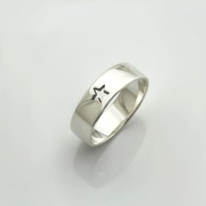 Star Cutout 6mm Ring