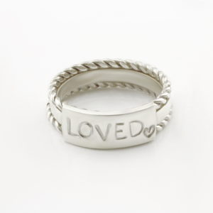 Personalised Ring Stack