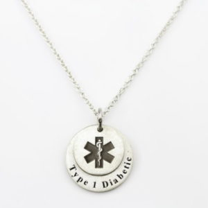 MEDICAL COIN NECKLACE