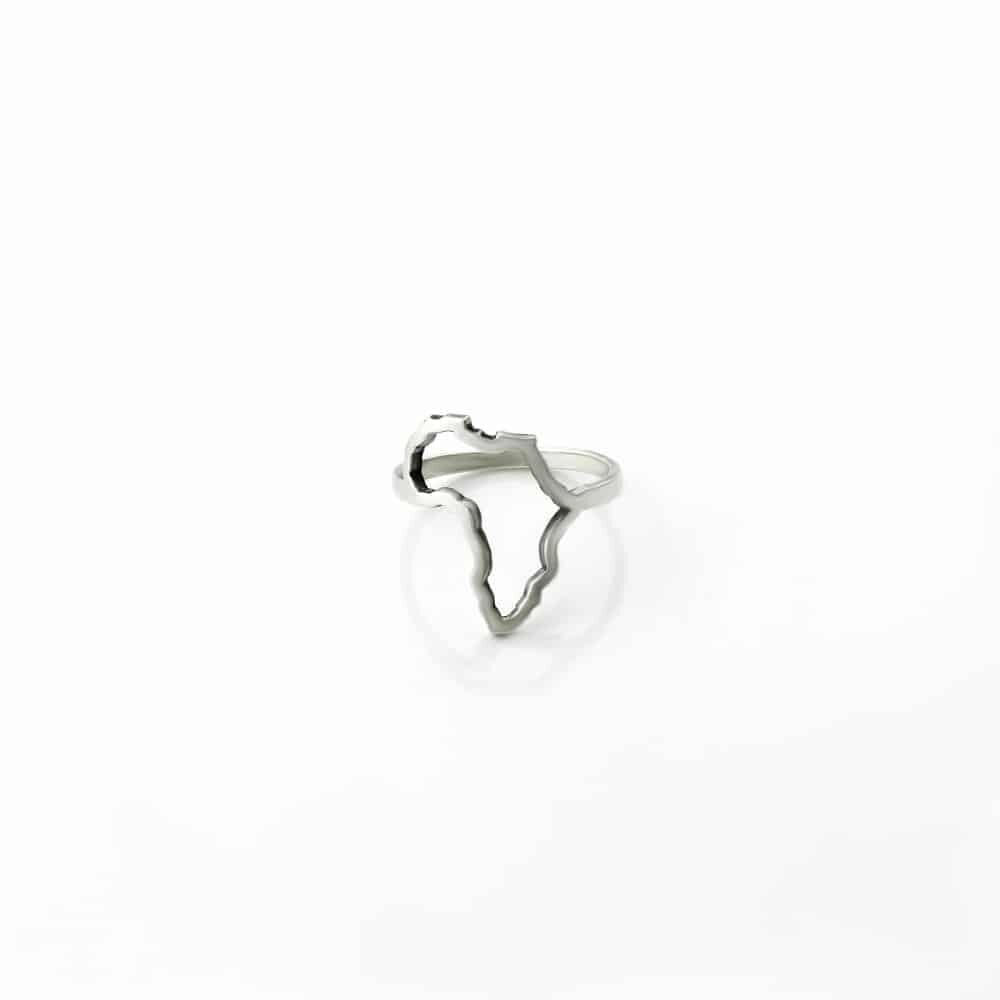 Africa Cutout Ring