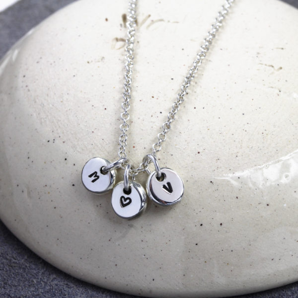Sterling Silver 3 Pebble Necklace from Silvery Jewellery South Africa