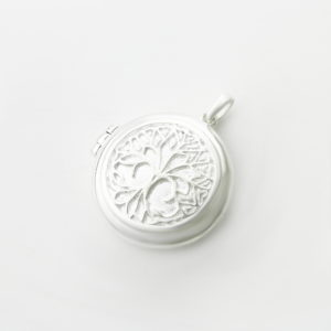 Tree Of Life Round Locket