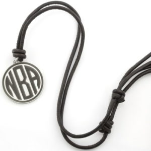 Leather Coin Necklace