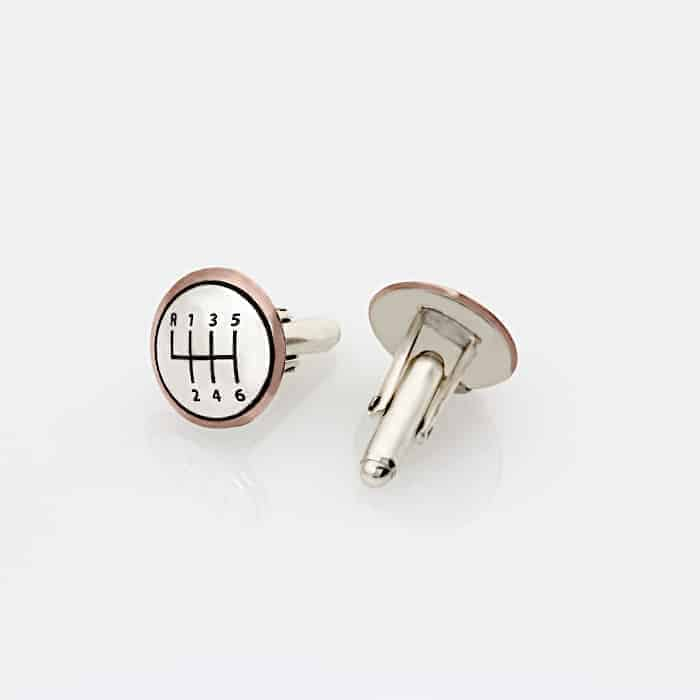 Two Tone Gear Cufflinks Updated