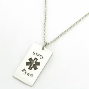 Medical Alert Necklace - Female South Africa Jewellery