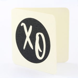 Bamboo general card XO