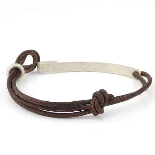 Double Leather Cord Bracelet Durban Bracelets