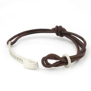 Double Leather Cord Bracelet South Africa Jewellery
