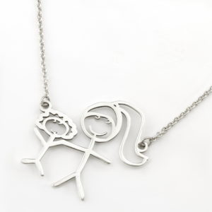 Kids Drawing Cutout Necklace Durban Necklaces