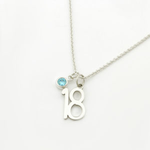 18th Birthday Birthstone Necklace durban