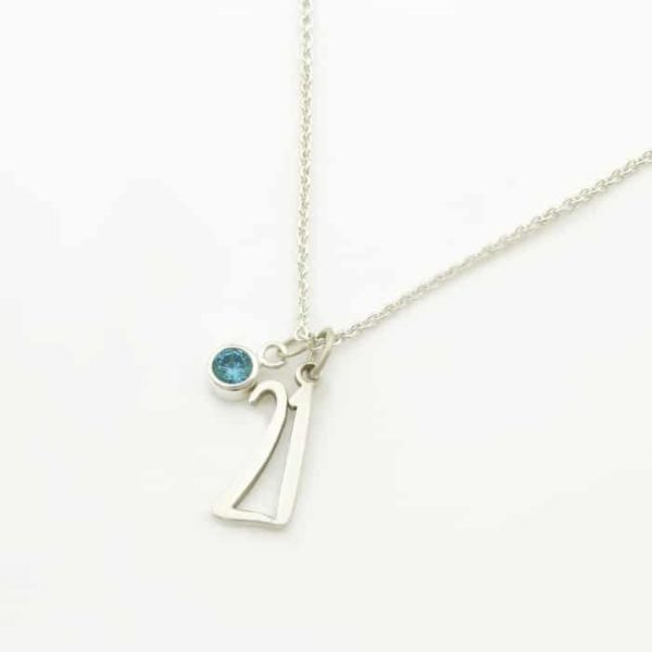 21st birthday birtstone necklace durban