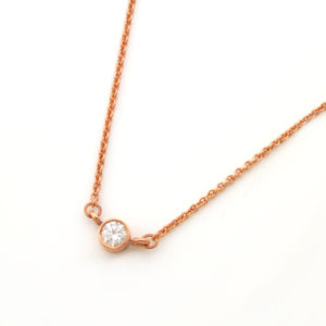 Dainty Cubic Zirconia Connector Necklace Durban