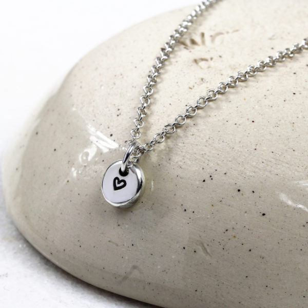 Sterling Silver Pebble Necklace by Silvery Jewellery South Africa