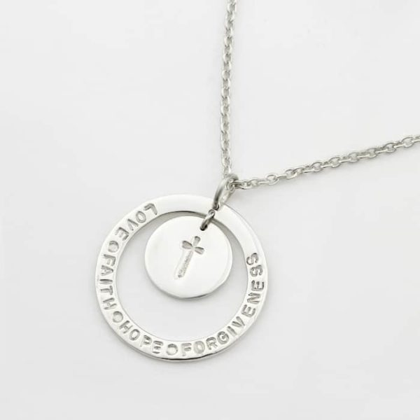 Unity Hoop Necklace With Coin