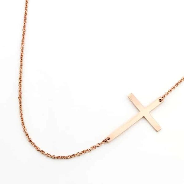 Cross Connector Necklace