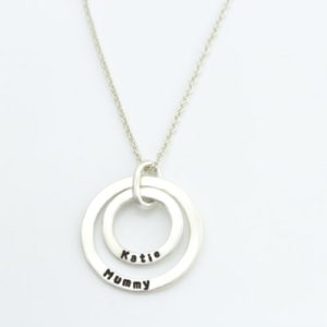 Double Hoop Necklace