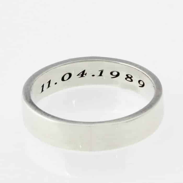 Engraved sterling silver mens rings south africa