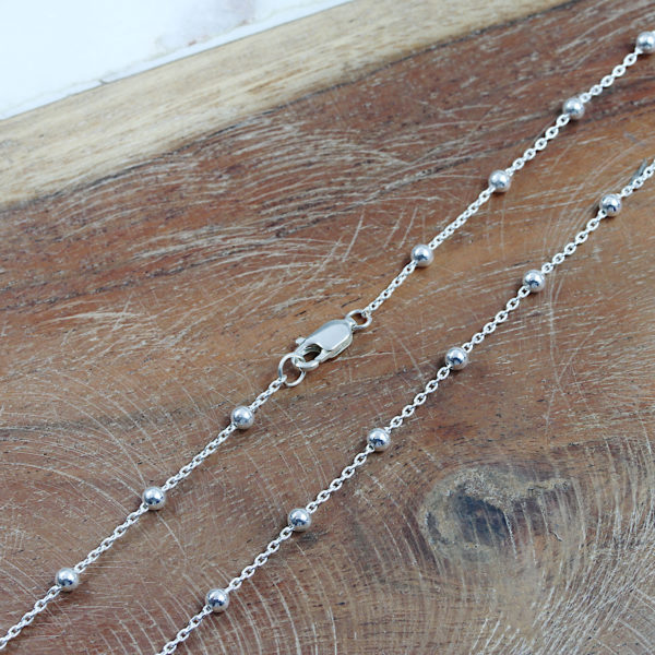 Sterling Silver Dew Drop Necklace South Africa 1