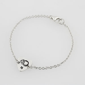 Kiddies Heart Connector Bracelet