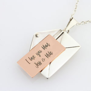 Secret Message Locket Necklace 1
