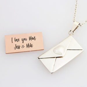 Secret Message Locket Necklace 3