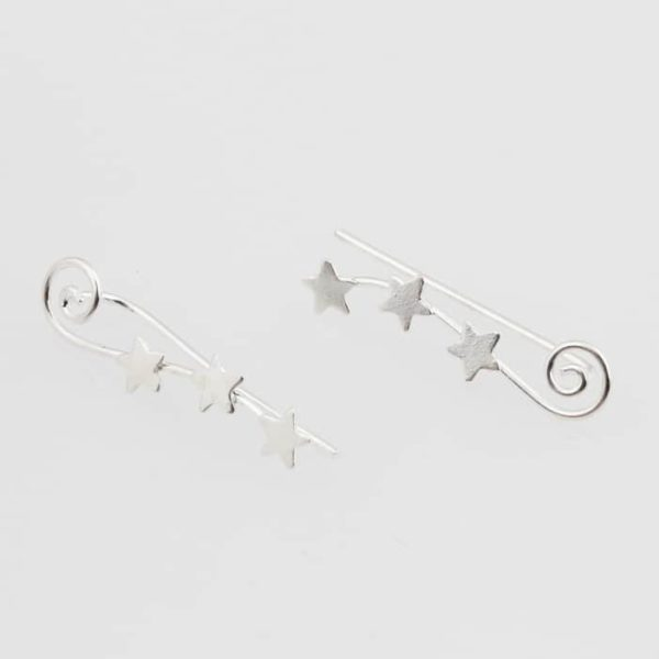 shining star climber earrings