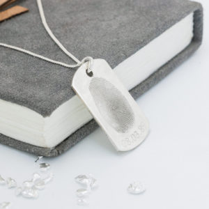 Fingerprint-Identity-Tag-Necklace