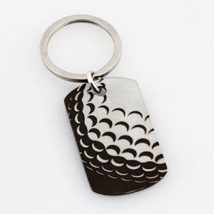 Golf Key Ring May The Course– Stainless Steel1