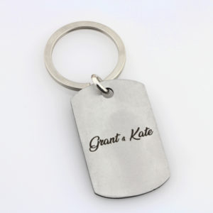 Golf With Dad Key Ring – Stainless Steel2