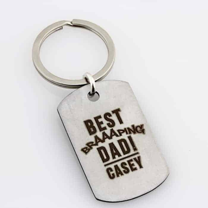 Motorbike Key Ring – Stainless Steel
