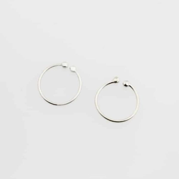 Dainty Plain Band Ear Cuffs